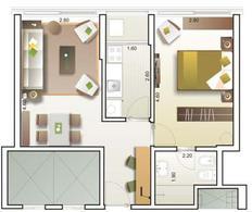 Foto Departamento en Venta en  Malvín ,  Montevideo  Apartamentos en Malvin - 1 dormitorios CON RENTA