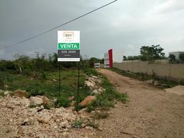 Foto Terreno en Venta en  La Guadalupana,  Mérida  Se Vende Terreno de 1,532 m2 Con Frente al Periferico Sur