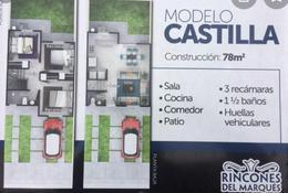 Foto Casa en Venta en  Rincones el Marqués,  El Marqués  CASA VENTA MODELO CASTILLA RINCONES DEL MARQUES  QRO. MEX.