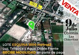 Foto thumbnail Terreno en Venta en  Chacritas,  9 De Julio  Lote 28, Calle pública s/N°, Colonia Las Chacritas