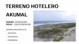Foto Terreno en Venta en  Akumal,  Tulum  TERRENO HOTELERO AKUMAL