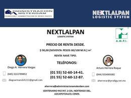 Foto Terreno en Venta | Renta en  Santiago Atocan,  Nextlalpan  Avenida Recursos Hidraulicos s/n