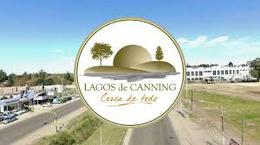 Foto Terreno en Venta en  Lagos de Canning,  Countries/B.Cerrado (E. Echeverría)  Lagos de Canning con Fondo a la laguna