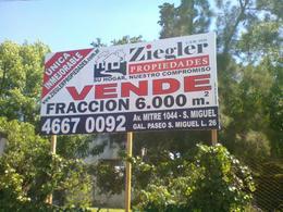 Foto Terreno en Venta en  San Miguel,  San Miguel  CAMPOS, GASPAR, AV. 3500