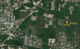 Foto Terreno en Venta en  Pueblo Cholul,  Mérida  TERRENOS RESIDSENCIALES EN MERIDA AVENIDA CUMBRES | CHOLUL