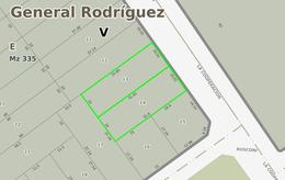 Foto Terreno en Venta en  General Rodriguez ,  G.B.A. Zona Oeste  La cooperacion 100