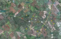 Foto thumbnail Terreno en Venta en  Los Pinos (Pda. Robles),  Parada Robles  Ruta 8 Exaltación de La Cruz
