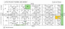 Foto Terreno en Venta en  Roldan,  San Lorenzo  Barrio Privado Pucara Los Buhos - Lote 23 - Roldán