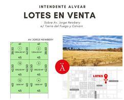 Foto Terreno en Venta en  Intendente Alvear,  Chapaleufu  Avda Jorge Newbery - Intendente Alvear