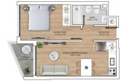 Foto Departamento en Venta en  Tres Cruces ,  Montevideo  Unidad   407   Apartamentos De 1 Dormitorio  En Venta , Tres Cruces