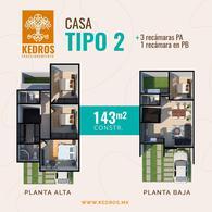 Foto Casa en Venta en  El Cedro,  Villahermosa  Casa en Venta en Fraccionamiento KEDROS Villahermosa, Tabasco