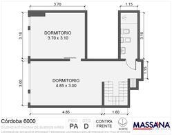 Foto thumbnail Departamento en Venta en  Palermo ,  Capital Federal  AV. CORDOBA al 6000