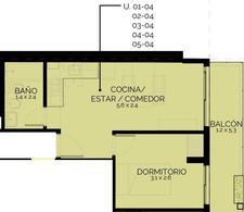 Foto Departamento en Venta en  República de la Sexta,  Rosario  ALEM 2398