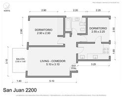 Foto Departamento en Venta en  San Cristobal ,  Capital Federal  San Juan al 2200 PISO 8