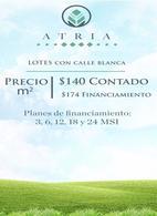 Foto Terreno en Venta en  Pueblo Tixkuncheil,  Baca  ATRIA, LOTES DE INVERSIÓN AL NORESTE DE MÉRIDA