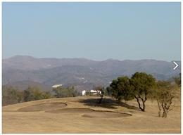 Foto Terreno en Venta en  Alta Gracia,  Santa Maria  Alta Gracia Country Golf Terreno con con inmejorables vistas