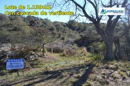 Foto Terreno en Venta en  Casa Grande,  Punilla  Lote con cascada de vertiente