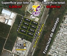 Foto Terreno en Renta en  Fraccionamiento Real Montejo,  Mérida  Terrenos De 5000 m2 En Periférico Zona CRIT