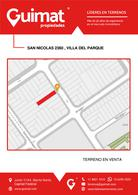 Foto Terreno en Venta en  Villa del Parque ,  Capital Federal  SAN NICOLAS al 2300