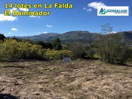 Foto Terreno en Venta en  La Falda,  Punilla  Lotes en El Dominador