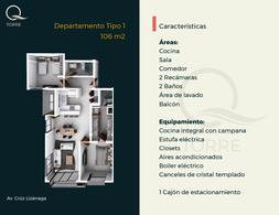 Foto Departamento en Venta en  Palos Prietos,  Mazatlán  Condominio 103 Tipo 3  en Venta en Torre Q