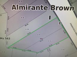 Foto Terreno en Venta en  Adrogue,  Almirante Brown  DRUMOND 838