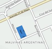 Foto Terreno en Venta en  Trelew ,  Chubut  15 x 50 frente sobre calle San Martin al 2300