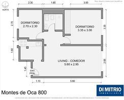 Foto Departamento en Venta en  Barracas ,  Capital Federal  Av. Montes de Oca y Brandsen