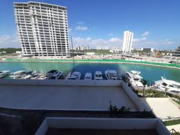 Foto Departamento en Venta en  Puerto Cancún,  Cancún  MARINA CONDOS, PUERTO CANCUN-Departamento En Venta (Amueblado) , $9,500,000.00 MXN - CLAVE GERA122021
