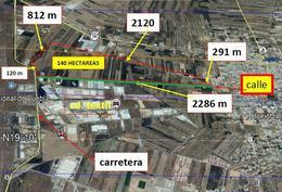 Foto Terreno en Venta en  Aeropuerto Puebla (Hermanos Serdán),  Huejotzingo  Terreno en venta frente al Aeropuerto