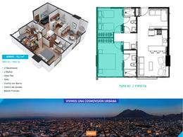 Foto Departamento en Venta en  Centro,  Monterrey  Departamentos Pre Venta Centro Monterrey