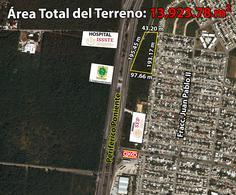 Foto Terreno en Venta en  Fraccionamiento Juan Pablo,  Mérida          Terreno De 1.3 Hectáreas En Periférico Poniente