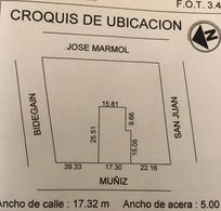 Foto Terreno en Venta en  Almagro ,  Capital Federal  Muñiz 1060/66
