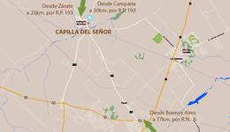 Foto Terreno en Venta en  Capilla Del Señor,  Exaltacion De La Cruz  Barrio Las Marias , Capilla del Señor ''SIN EXPENSAS'' lote 101