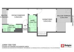 Foto thumbnail Departamento en Venta en  Barrio Norte ,  Capital Federal  JUNIN al 1200