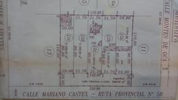 Foto thumbnail Terreno en Venta en  Canning,  Ezeiza  Av Mariano Castex entre Vieytes y Montes de Oca