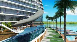 Foto Departamento en Venta en  Puerto Cancún,  Cancún   Departamento en Venta Cancún,  SHARK TOWERS, de lujo 3 recámaras, cuarto servicio Puerto Cancún