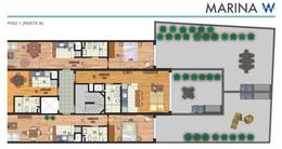 Foto Departamento en Venta en  Pocitos ,  Montevideo  UNIDAD  104      Monoambiente, cocina integrada y patio de uso exclusivo de 20m²,
