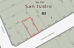 Foto Terreno en Venta en  Mart.-Vias/Santa Fe,  Martinez  Ladislao Martinez 222, Martinez