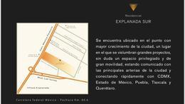 Foto Terreno en Venta en  San Antonio,  Pachuca  TERRENOS RESIDENCIAL EXPLANADA SUR, PACHUCA, HGO.