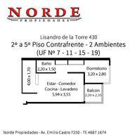 Foto Departamento en Venta en  Liniers ,  Capital Federal  Lisandro de la Torre 430 2º Piso Contrafrente UF Nº 7