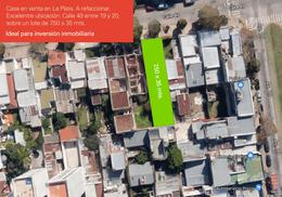 Foto Casa en Venta en  La Plata,  La Plata  Calle 49 e/ 19 y 20