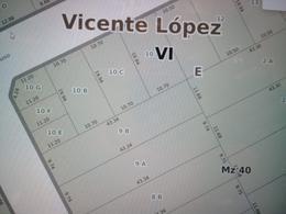 Foto Terreno en Venta en  Munro,  Vicente López  Sargento Cabral al 3300