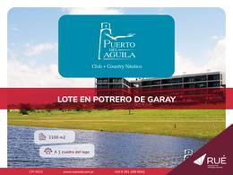 Foto Terreno en Venta en  Calamuchita ,  Cordoba  Lote en venta en Puerto del Águila – Club   Country Náutico. Potrero de Garay, Córdoba.