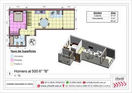 Foto Departamento en Venta en  Villa Luro ,  Capital Federal  Homero al 500 6 B