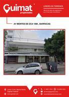 Foto Terreno en Venta en  Barracas ,  Capital Federal  MONTES DE OCA al 1500