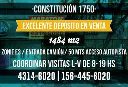 Foto Depósito en Venta en  Constitución ,  Capital Federal  constitución al 1700