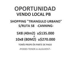 Foto Local en Venta en  Canning,  Canning  Triángulo Urbano Canning
