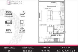 Foto Departamento en Venta en  El Reloj,  Coyoacán  PREVENTA DE DEPARTAMENTOS ENGANCHE DE $50 MIL Y MENSUALIDADES DE $15 MIL