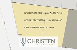 Foto Terreno en Venta en  Barranquitas,  Santa Fe  CANDIDO PUJATO al 3800